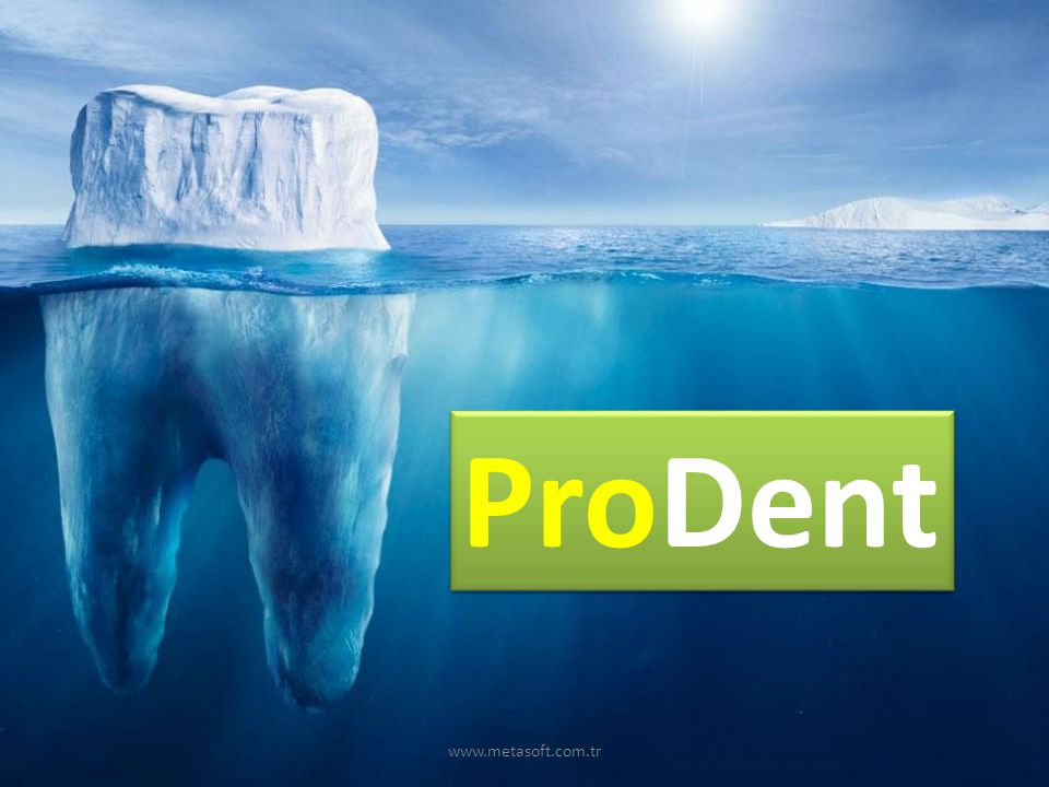 www.metasoft.com.tr Diş Klinik Ekranı
