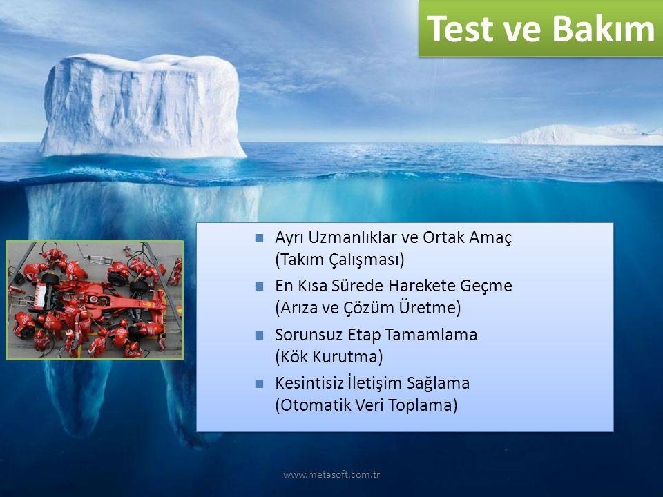 www.metasoft.com.tr Test ve Bakım