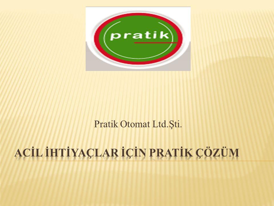 Pratik Otomat Ltd.Şti.