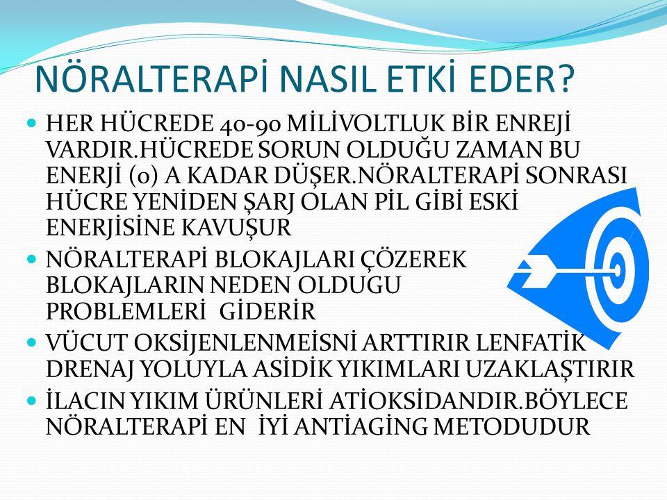 NÖRALTERAPİ NASIL ETKİ EDER.