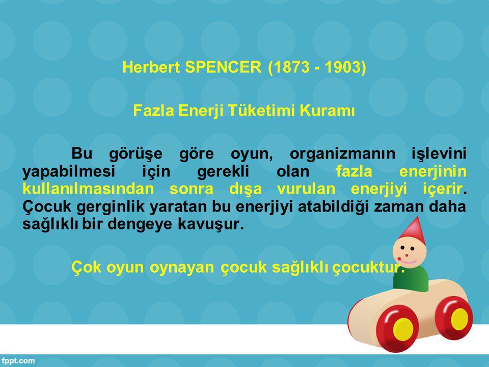 Spencer, hayvanlar ve insanların aktif olma yönünde evrensel bir eğilimleri olduğu inancındadır.
