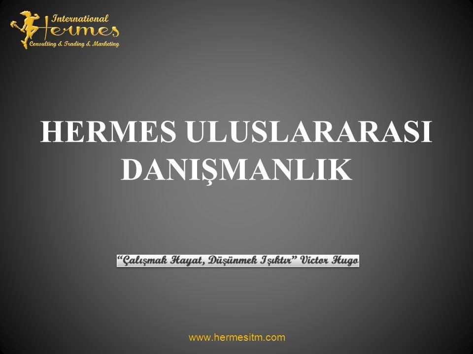 HERMES ULUSLARARASI DANIŞMANLIK www.hermesitm.com