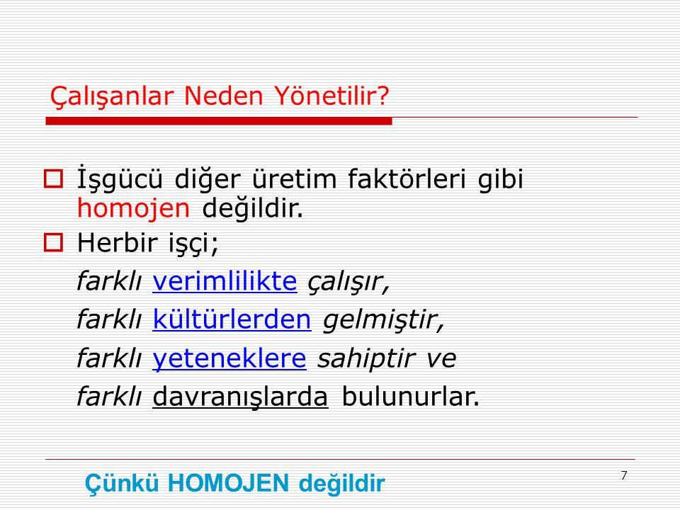 18 Peki neden Türkiye'de Ve Dünya'da insanlar sürekli olarak işten çıkarılıyor.