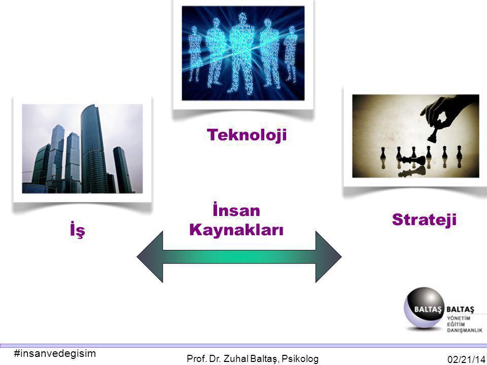 #insanvedegisim 02/21/14 Prof. Dr. Zuhal Baltaş, Psikolog Strateji İş Teknoloji İnsan Kaynakları