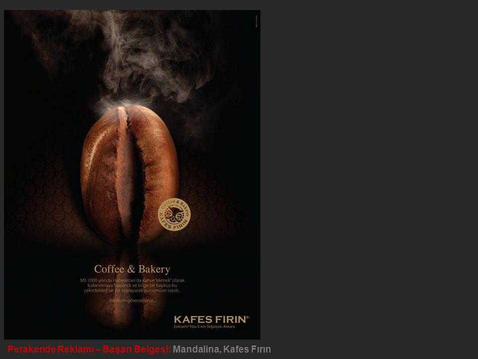 Perakende Reklamı – Başarı Belgesi: Mandalina, Kafes Fırın
