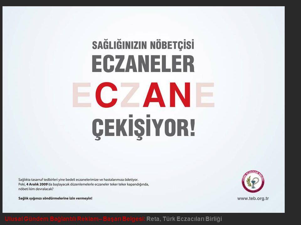 Yerel Gündem Bağlantılı Reklam – Kırmızı Bölge Ödülü: Arsel Group, Kavaklıderem Derneği