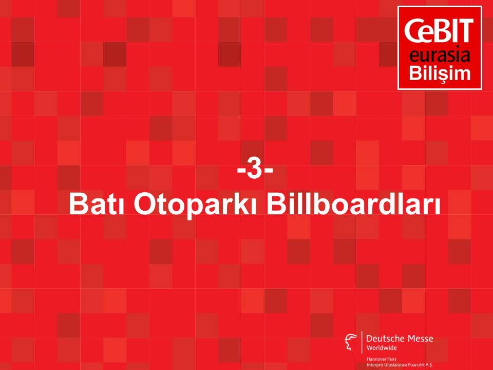 -3- Batı Otoparkı Billboardları