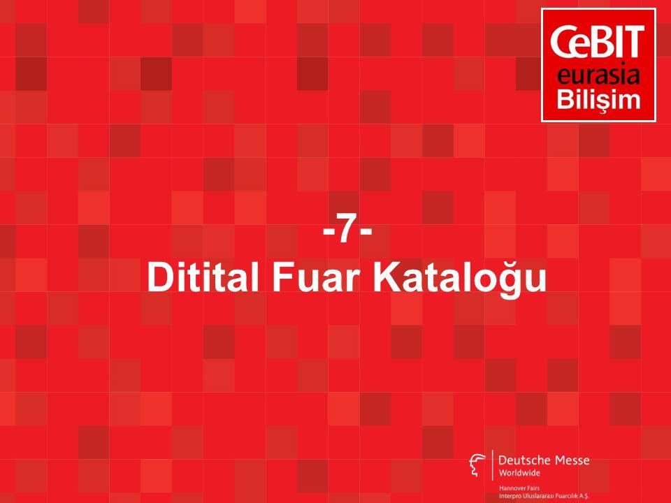 -7- Ditital Fuar Kataloğu