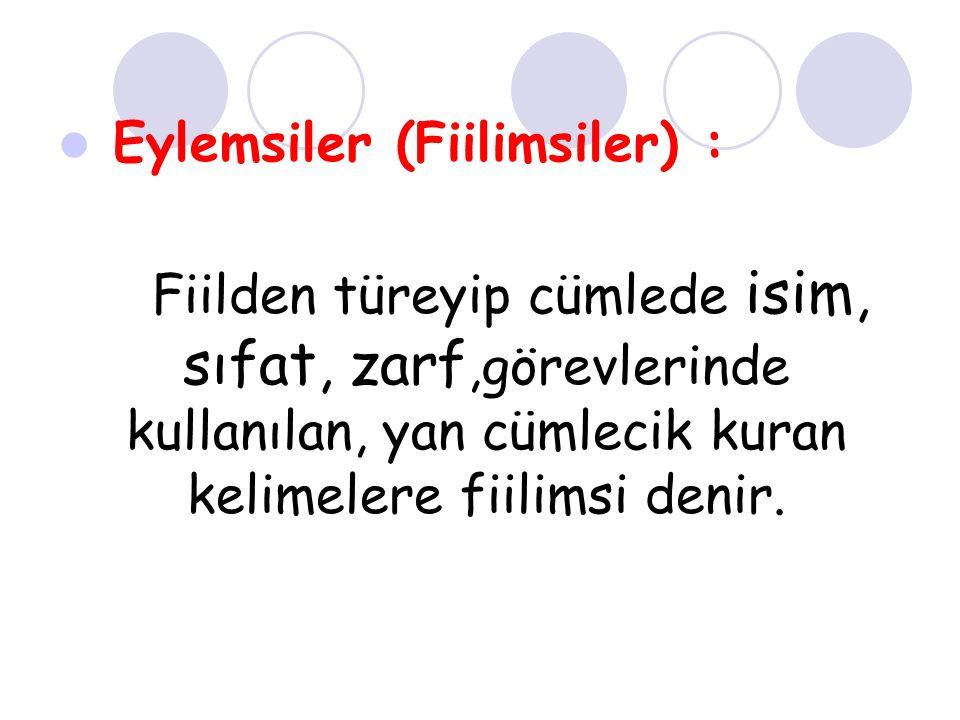 ( ) 6.Fiilimsi olan cümlelerde genellikle birden fazla yargı bulunmaktadır.