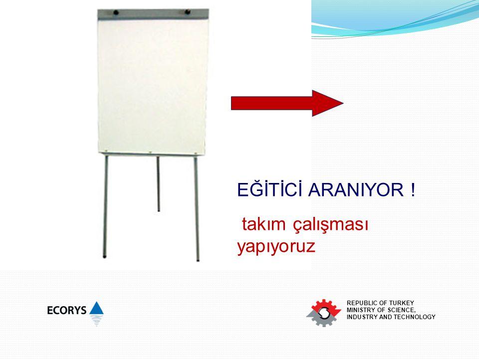 This project is co-financed by the European Union and the Republic of Turkey REPUBLIC OF TURKEY MINISTRY OF SCIENCE, INDUSTRY AND TECHNOLOGY Eğitiminizi hazırlarken Hangi teknikleri kullanabiliriz ?