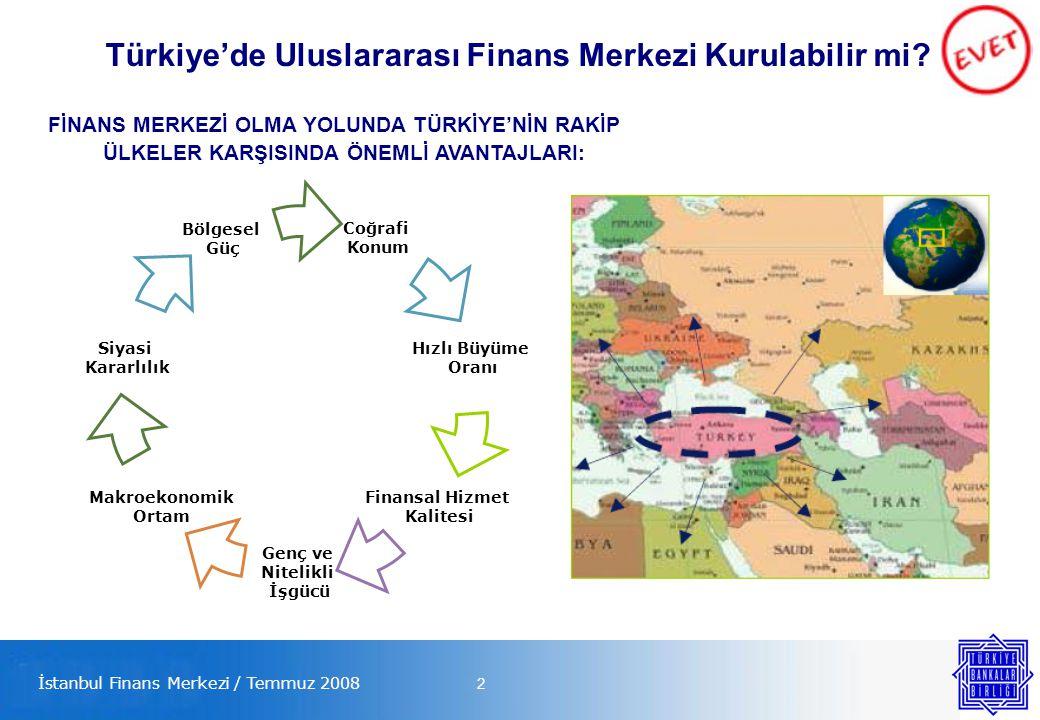 2 Türkiye'de Uluslararası Finans Merkezi Kurulabilir mi.