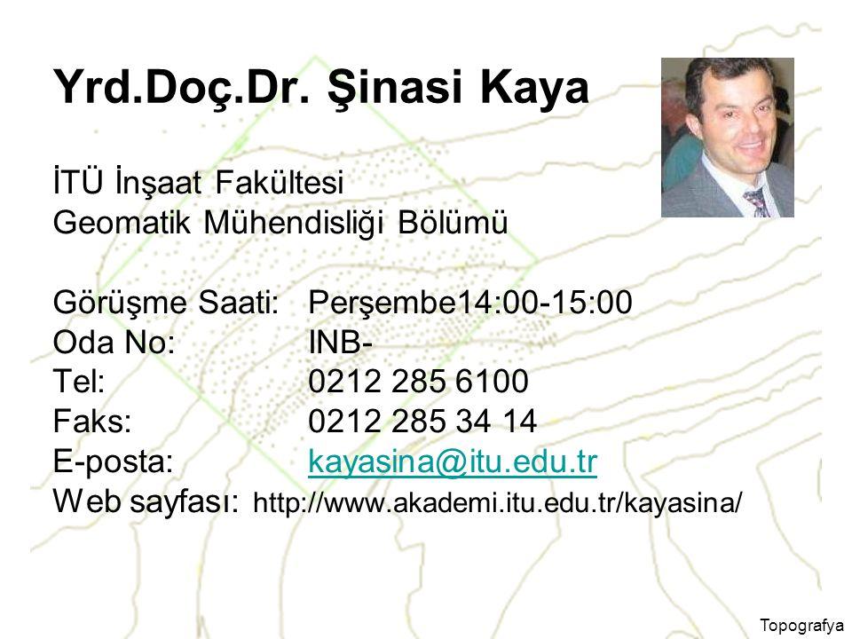 Topografya Dersin Program Çıktıları ile İlişkisi
