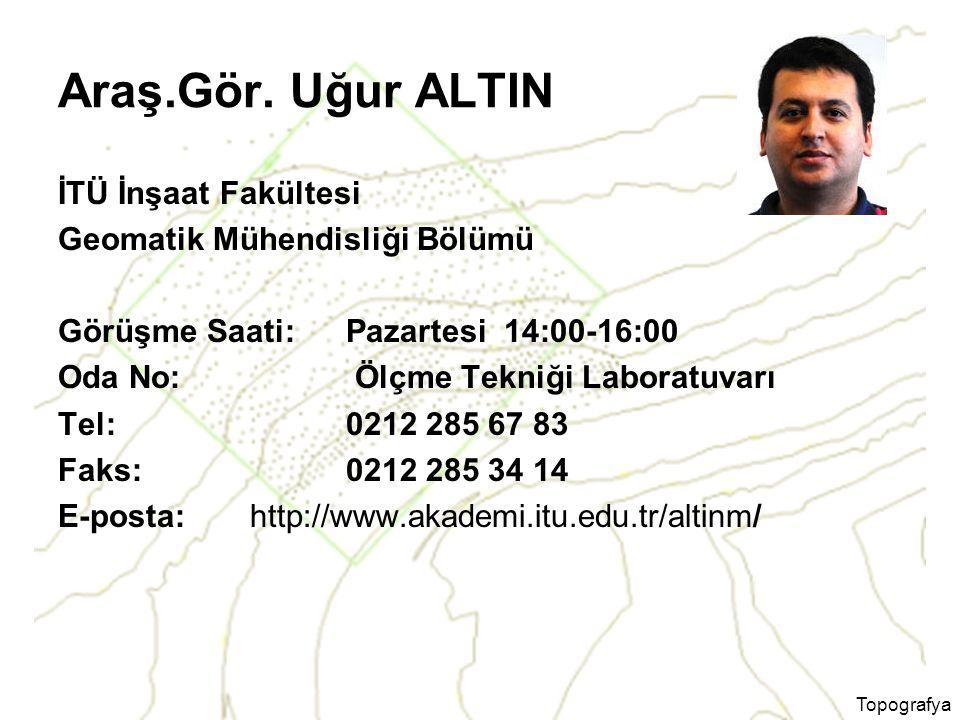 Topografya Araş.Gör.