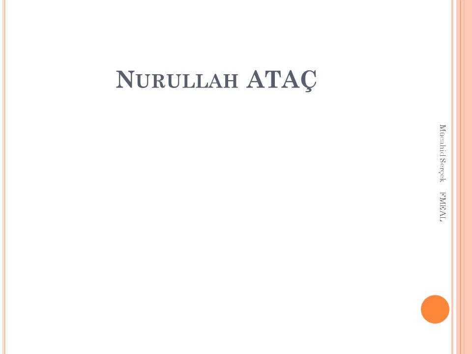 N URULLAH ATAÇ Mücahid Serçek FMEAL