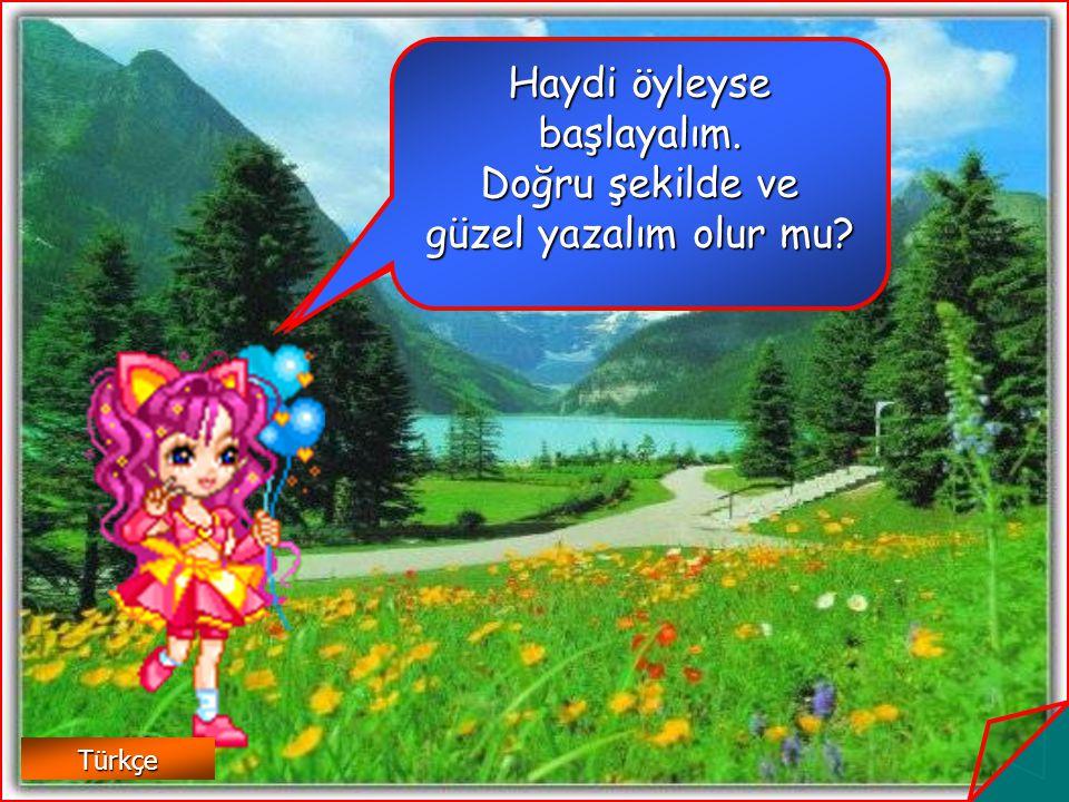o k Türkçe