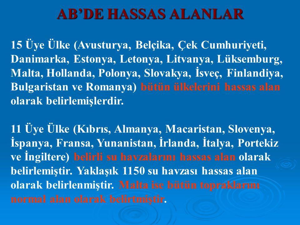 15 Üye Ülke (Avusturya, Belçika, Çek Cumhuriyeti, Danimarka, Estonya, Letonya, Litvanya, Lüksemburg, Malta, Hollanda, Polonya, Slovakya, İsveç, Finlan