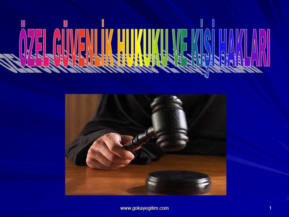 Özel Güvenlik Hizmetlerinin Amacı Suç işlenmesini önlemek ve caydırıcılık sağlamaktır.