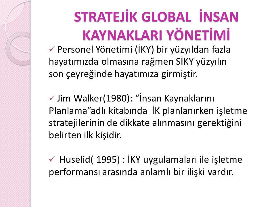 SGİKY SG İ KY ve Esneklik Sanchez, 1995: Global pazar hep değişim içinde olduğundan esnek yenilikçi çözümlere gereksinim vardır.