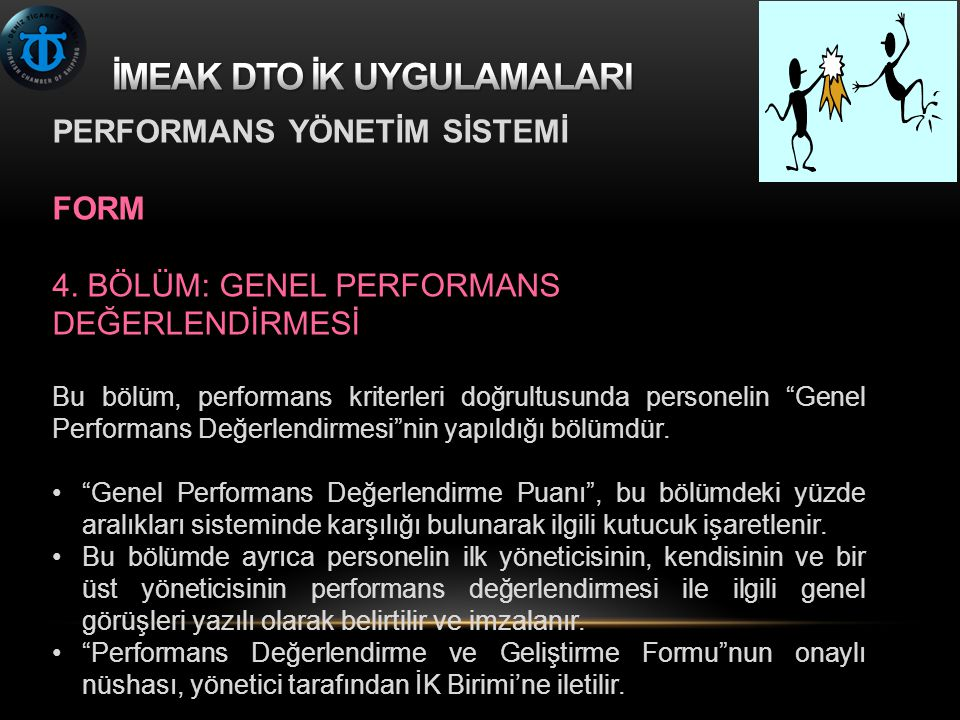 PERFORMANS YÖNETİM SİSTEMİ FORM 4.