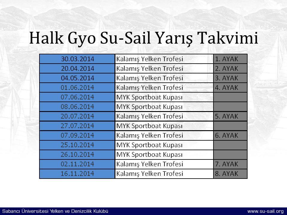 Halk Gyo Su-Sail Yarış Takvimi
