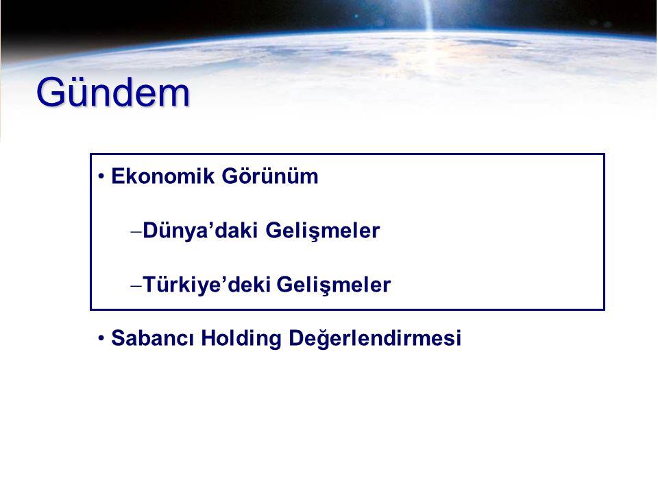 13 Türkiye 2011 Yılı Beklentileri Kaynak : Sabancı Holding 2010 Reel Büyüme,% TÜFE,% yıl sonu USD/YTL, yıl sonu EUR/USD paritesi Bütçe açığı/GSMH,% Bono Faizi, yıl sonu,% Cari Denge/GSMH,% 2011t 8.25.0 6.407.00 1.5461.55-1.60 1.32541.30 -1.35 (3.5)(4.0) 7.688.5-9.0 (6.5)(6.5-7.0)