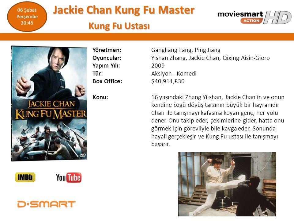 Jackie Chan Kung Fu Master Jackie Chan Kung Fu Master Kung Fu Ustası Kung Fu Ustası Yönetmen: Gangliang Fang, Ping Jiang Oyuncular: Yishan Zhang, Jack