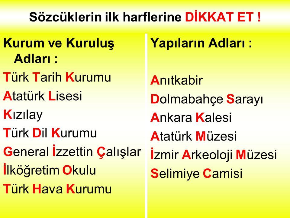 Ulusal Bayramların Adları :. 23 Nisan Ulusal Egemenlik ve Çocuk Bayramı. 19 Mayıs Atatürk'ü Anma Gençlik ve Spor Bayramı. 30 Ağustos Zafer Bayramı. 29