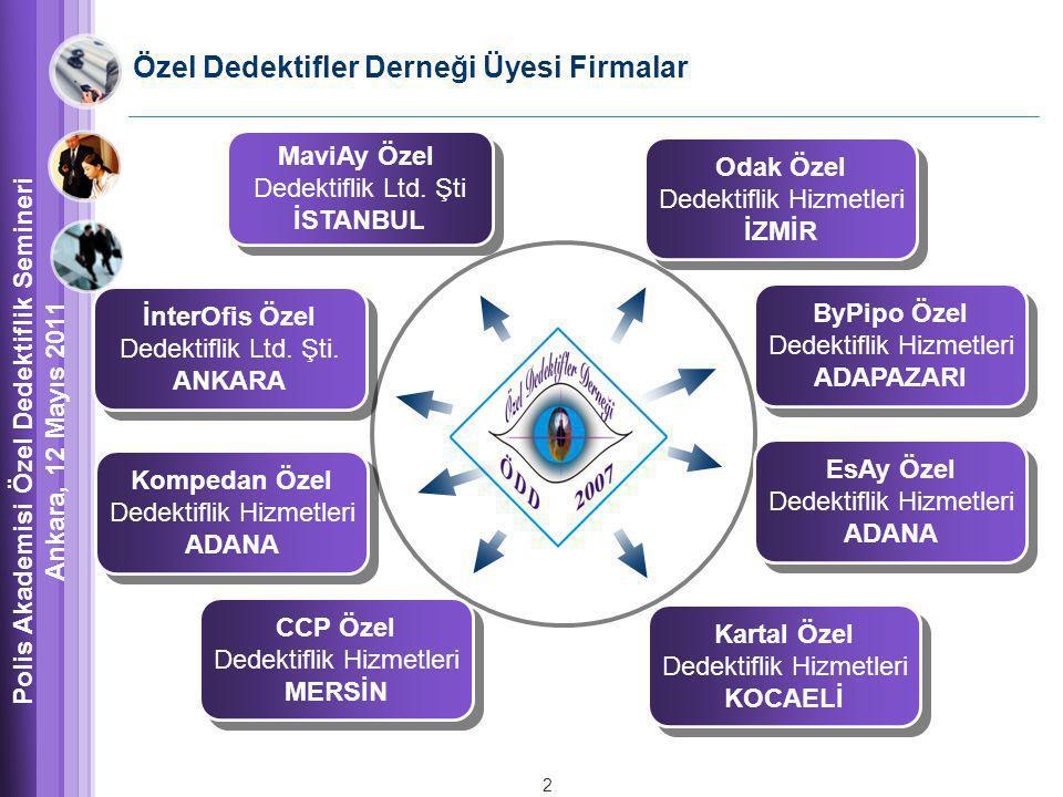 Özel Dedektifler Derneği Üyesi Firmalar MaviAy Özel Dedektiflik Ltd.