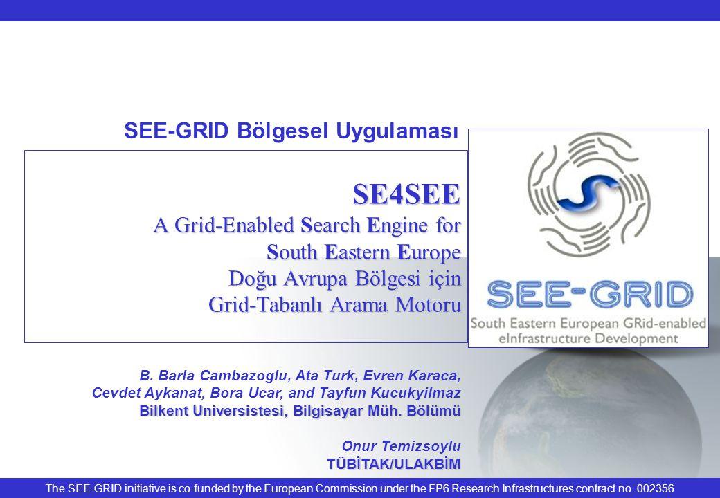 SEE-GRID Meeting12 (Backup) SE4SEE Web Portal