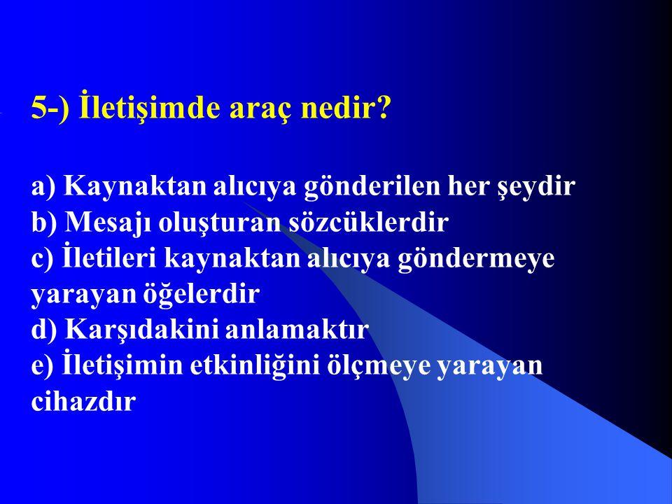 6-) İlk yardım nerede uygulanmalıdır.