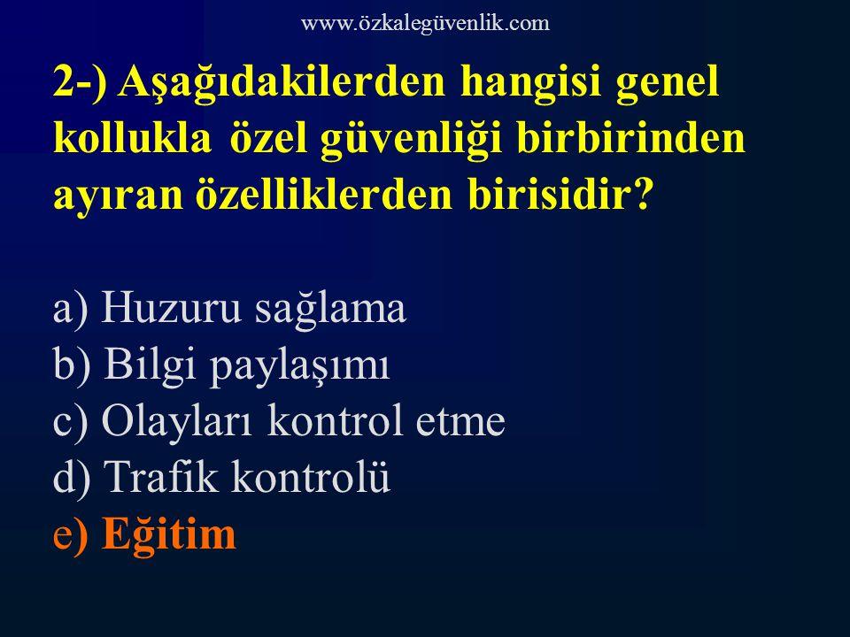 www.özkalegüvenlik.com 61-) Vali il sınırları içinde bulunan genel ve özel bütün kolluk kuvvet ve teşkilatının amiridir.