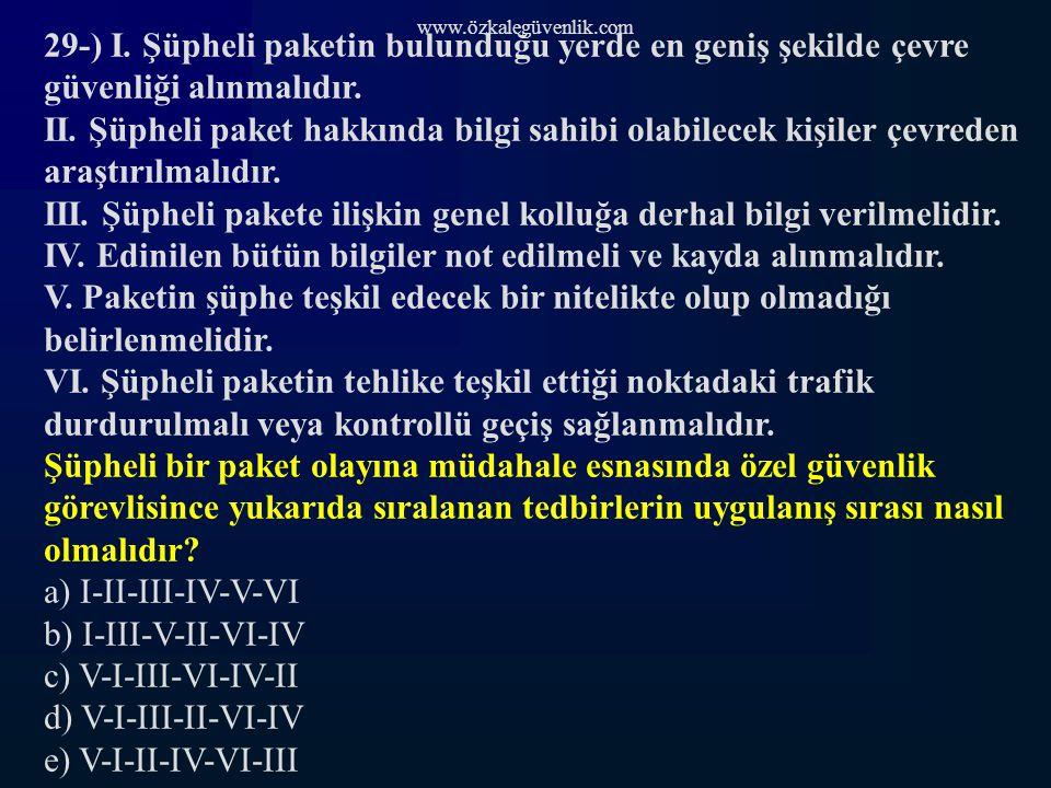 www.özkalegüvenlik.com 29-) I.