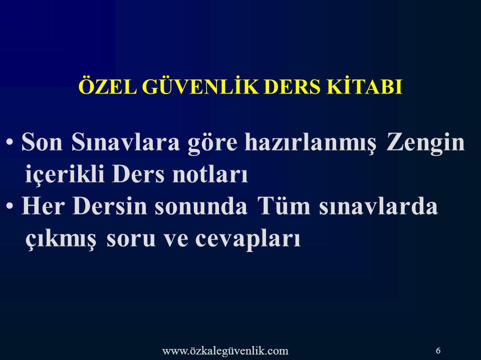 www.özkalegüvenlik.com 74-) Türk ceza kanununa göre, zor kullanma yetkisine sahip bir özel güvenlik görevlisinin, görevini yaptığı sırada, kişilere karşı görevinin gerektirdiği ölçünün dışında kuvvet kullanması hâlinde, hangi suça ilişkin hükümler uygulanır.