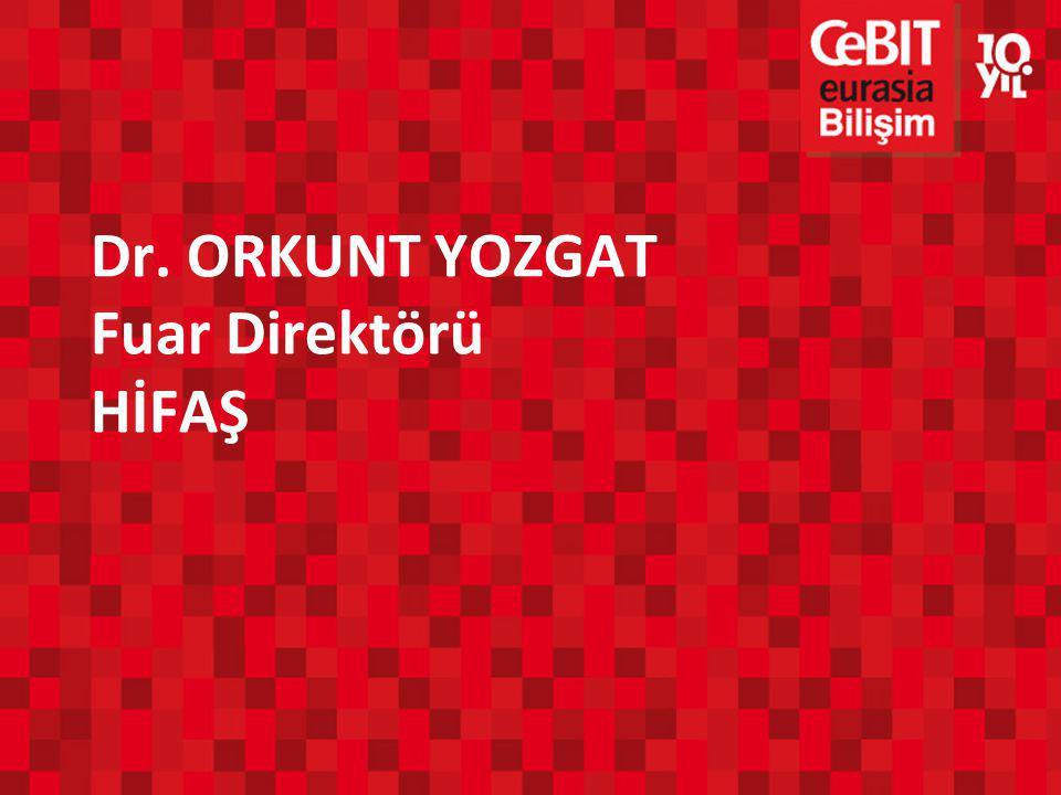 Dr. ORKUNT YOZGAT Fuar Direktörü HİFAŞ