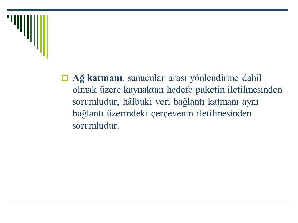 3.) Gelişmiş Servis Kalitesi Özellikleri Veri trafiğin daha iyi tanımlayıp ve buna göre önceliklendirilmesi yapılabilmektedir.