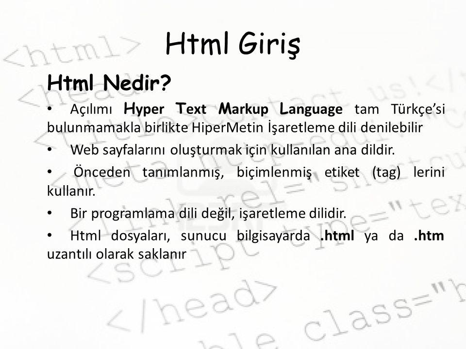 Html'de Linkler Mail Linki Belirtilen bir mail adresine bağlantı oluşturur Bize sorun Konu belirtmek için; Bize sorun