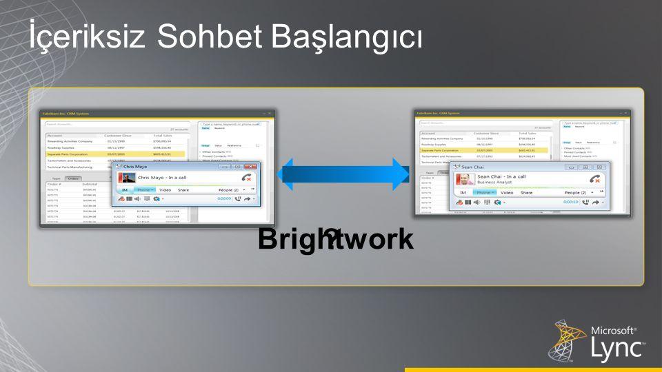 ? Brightwork İçeriksiz Sohbet Başlangıcı