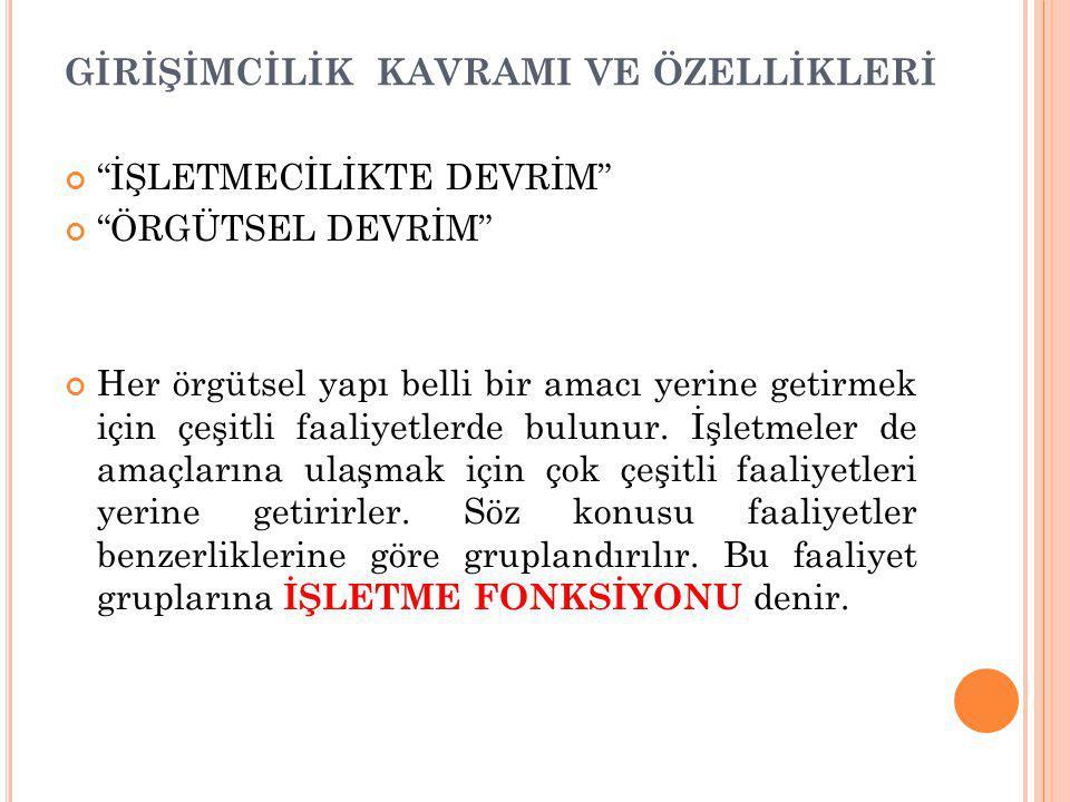 GİRİŞİMCİNİN TOPLUMSAL MİSYONU 2.