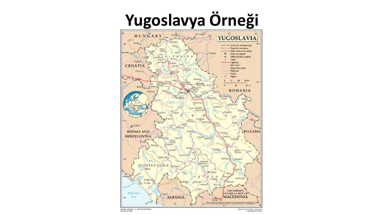 Yugoslavya Örneği