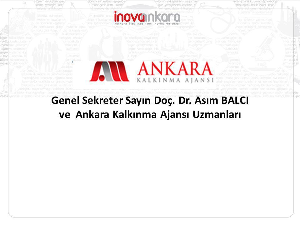 Genel Sekreter Sayın Doç. Dr. Asım BALCI ve Ankara Kalkınma Ajansı Uzmanları