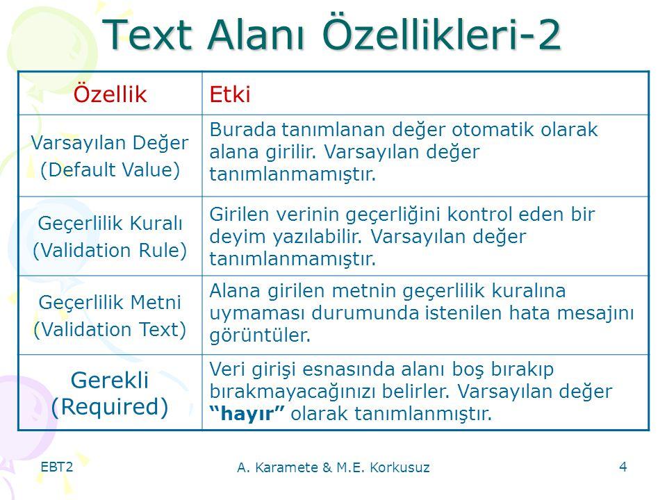 EBT2 A.Karamete & M.E.