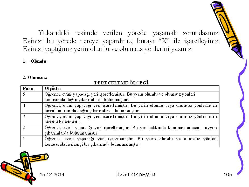 15.12.2014İzzet ÖZDEMİR105