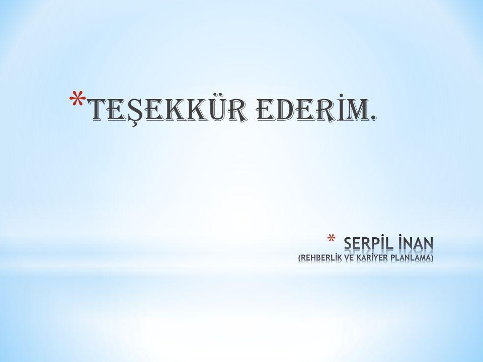 * TE Ş EKKÜR EDER İ M.