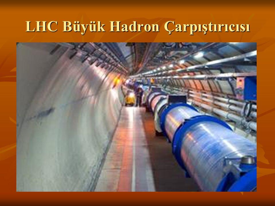 LHC Büyük Hadron Çarpıştırıcısı