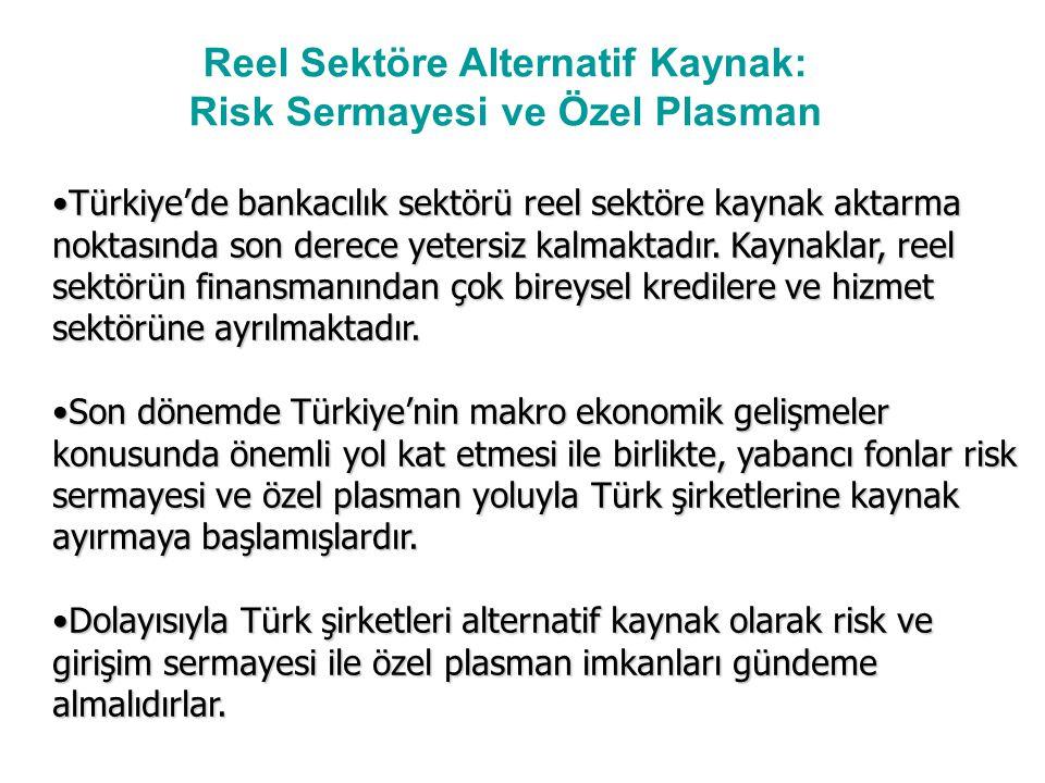 Türkiye'de bankacılık sektörü reel sektöre kaynak aktarma noktasında son derece yetersiz kalmaktadır.