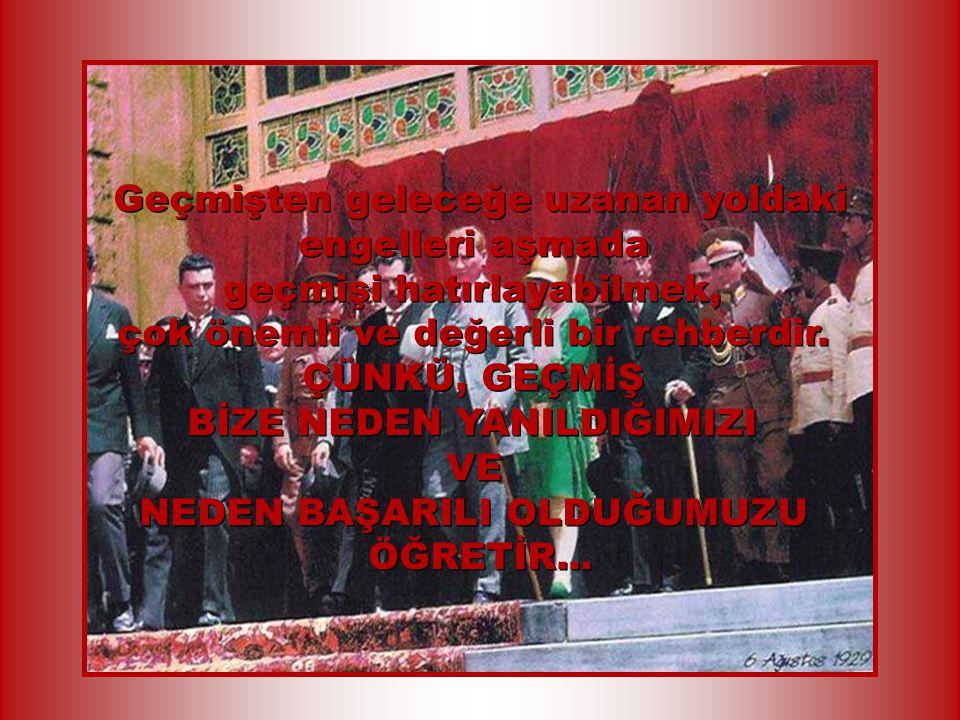 83. Yıldönümünde Türk Ulusu olarak onu günlük yaşantımızda ne kadar değerlendirebildiğimizi ÖLÇME VE ANLAMA ZAMANININ geldiğine inanıyorum. 83. Yıldön