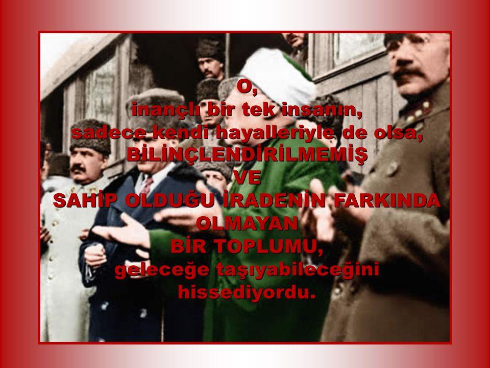 Ulu Önder Cumhuriyeti kurmaya karar verdiğinde, ulusunun gerçeklerinin buna çok elverişli olmadığını biliyordu...