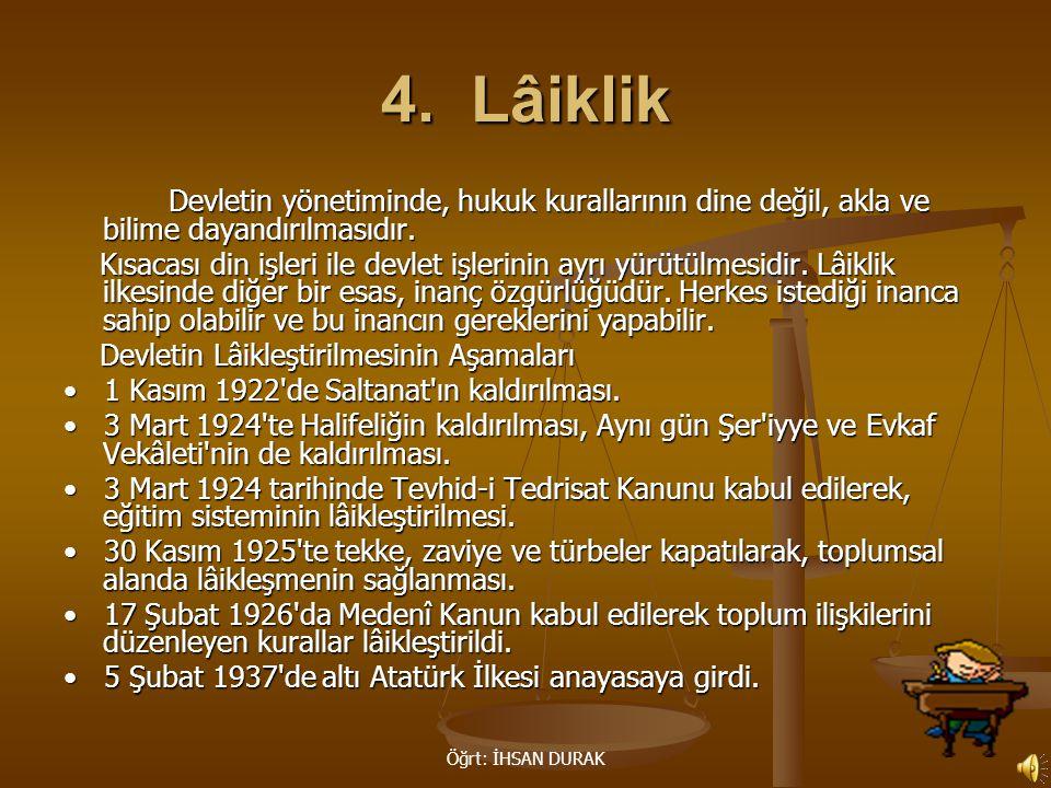 Öğrt: İHSAN DURAK 4.
