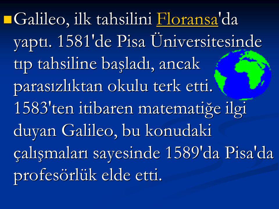 Modern fiziğin ve teleskopik astronominin kurucularından olan İ İ İ İ İ tttt aaaa llll yyyy aaaa nnnn bilim adamı. 1564'te İ İ İ İ İ tttt aaaa llll yy