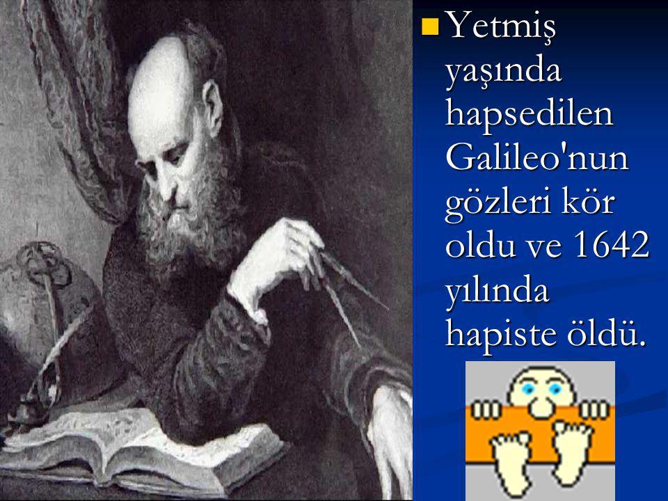 Galileo, bir müddet bilimin pratik yönüne döndü, mikroskobu geliştirdi. Ancak 1618'de üç kuyruklu yıldızın görülmesiyle kiliseyle münakaşaya girdi. Ar